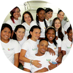 Graduates from The Dan Eley Foundation Trust in Columbia