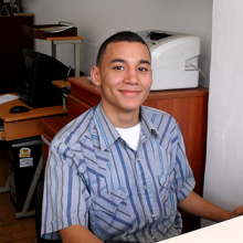 Andres, a graduate of the Dan Eley Foundation Trust