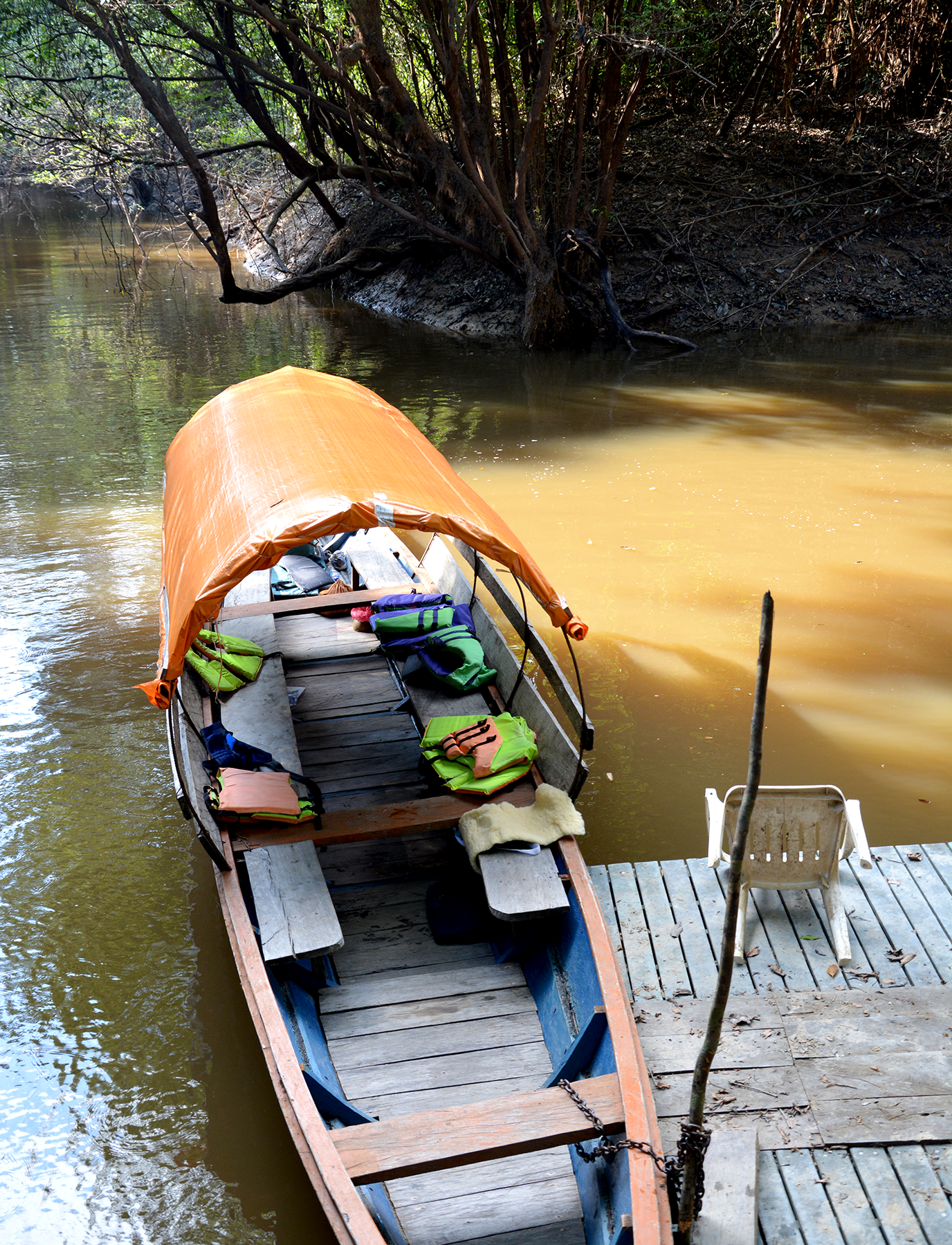 Canoe on Amazon