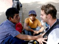 Dan working in Guatemala City in 2007