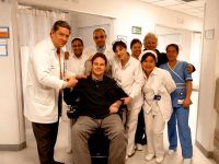 Dan returns to Colombia to meet the medical team who saved him